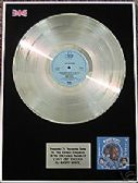BARRY WHITE -  Platinum Disc LP - CAN'T GET ENOUGH - Special Sale Offer !